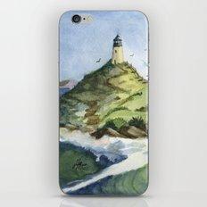 Peaceful Lighthouse V iPhone & iPod Skin