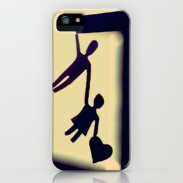 I will catch you when you fall iPhone Case