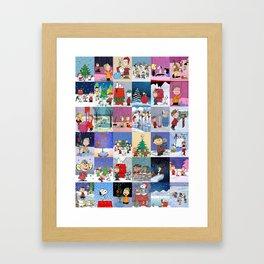 Peanuts Framed Art Print