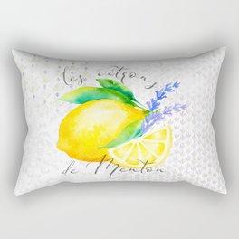 Les Citrons de Menton—Lemons from Menton, Côte d'Azur Rectangular Pillow
