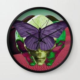 Butterfly Effects Wall Clock