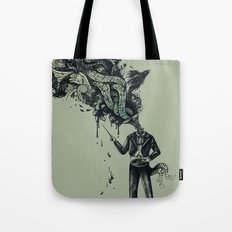 Decaying Sound of The Terror Tote Bag