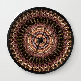 pp Mandala Wall Clock