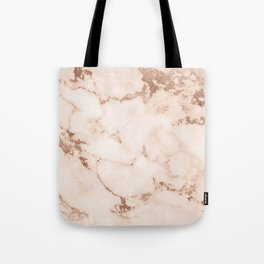 Coral Mable Design Tote Bag