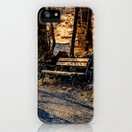Magic Moments in the Mountains iPhone Case