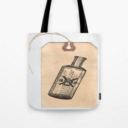 Old But Gold Bottle Stamp Hang Tag  Tote Bag