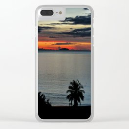 Escape To The Second Home Clear iPhone Case