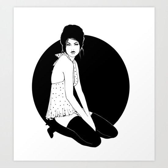 Midnight Mood Art Print