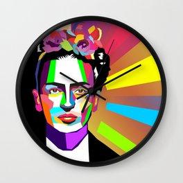 frida wpap Wall Clock