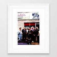 sopranos Framed Art Prints featuring The Sopranos - James Gandolfini Tribute by Gabriel T Toro