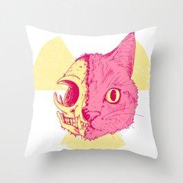 SCHRODINGERS CAT Throw Pillow