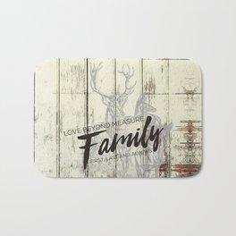 Family of The Deer Bath Mat