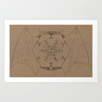 Deliberations of Night Art Print