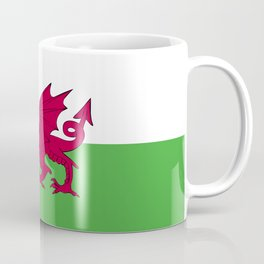 Wales flag emblem Coffee Mug