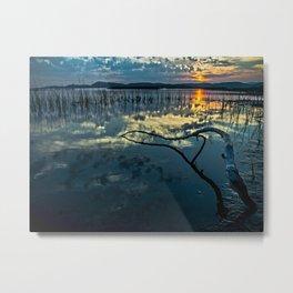 Lake Champlain Vermont Sunrise - 1 Landscape Metal Print