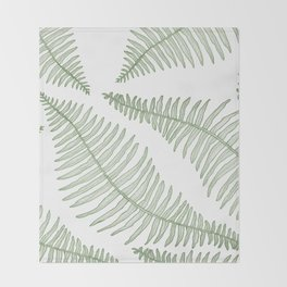 fern  Throw Blanket