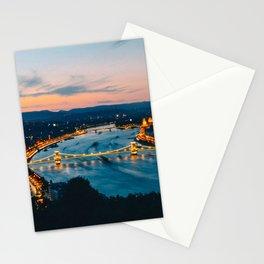 Budapest Sunset Stationery Cards