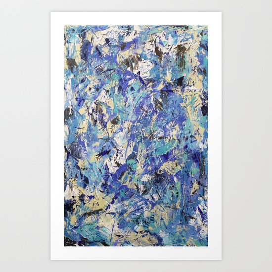 Final Wasser 2 Art Print