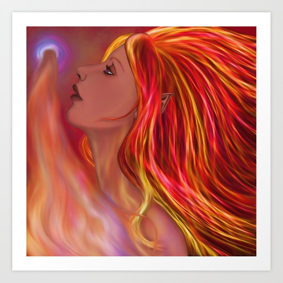 Flame Maiden by alishadawn