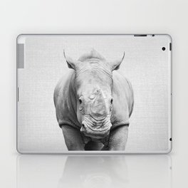 Rhino 2 - Black & White Laptop & iPad Skin