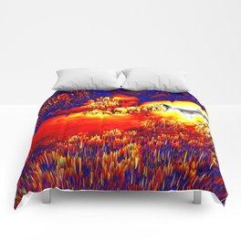 unknown terrain Comforters