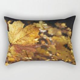Leaf in autunm Rectangular Pillow