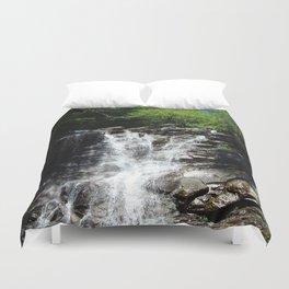 Waterfall, Glen Onoko Duvet Cover
