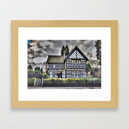 Tudor Home Framed Art Print