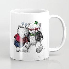 Bear: Happy New Year 2018 Coffee Mug