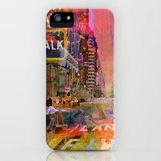 traffic jam pink Slim Case iPhone (5, 5s)