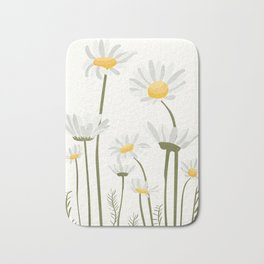Summer Flowers III Bath Mat
