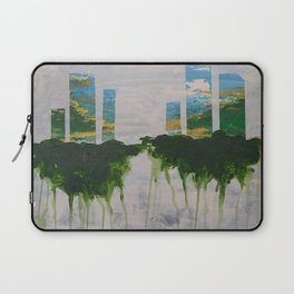 White Out- Sky Laptop Sleeve