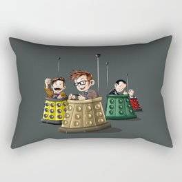 Doctor Who Bumper Cars Rectangular Pillow