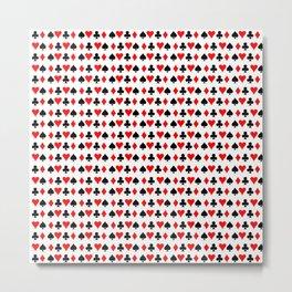 Card Suits 01 Metal Print