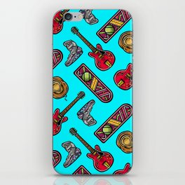 Back to the Future Pattern iPhone Skin