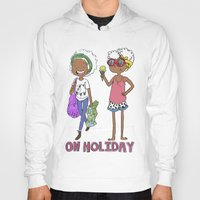 holiday Hoodies featuring Holiday by Coily and Cute