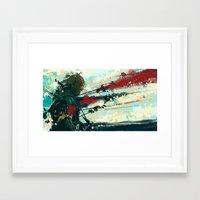 gondor Framed Art Prints featuring Son of Gondor by Alba Palacio