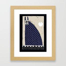 Hase & Mond Framed Art Print