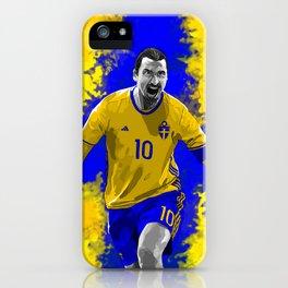 Zlatan Ibrahimovic - Sweden iPhone Case