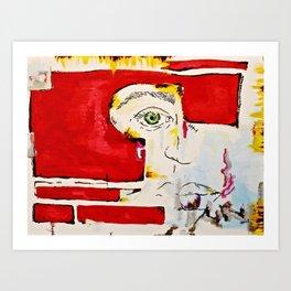 BRUISED Art Print