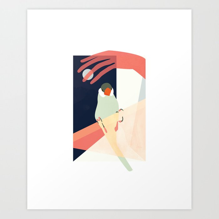 Sure Surfaces Blurred Art Print