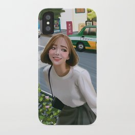 Harajuku street iPhone Case