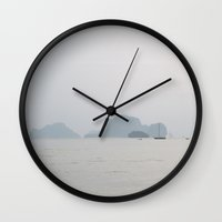 thailand Wall Clocks featuring Krabi, Thailand by prism POP