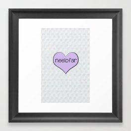 Neelofar Framed Art Print