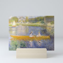 The Skiff (La Yole) by Pierre-Auguste Renoir Mini Art Print