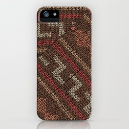 Winter lovers V iPhone Case