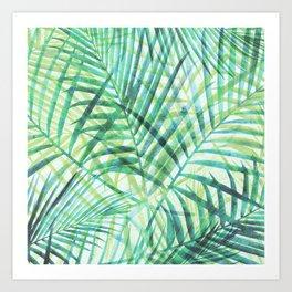 Tropical Greenery III Art Print