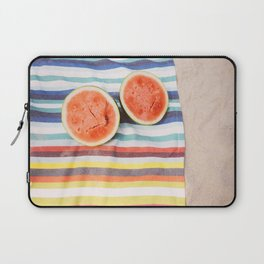 Beach Watermelon Laptop Sleeve