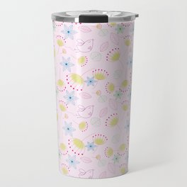 Birds Love Flowers Who Love Birds Travel Mug