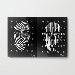 Human Condition Metal Print